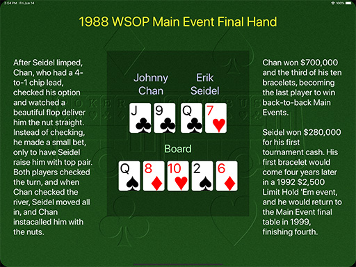 1979 WSOP Main Event final hand