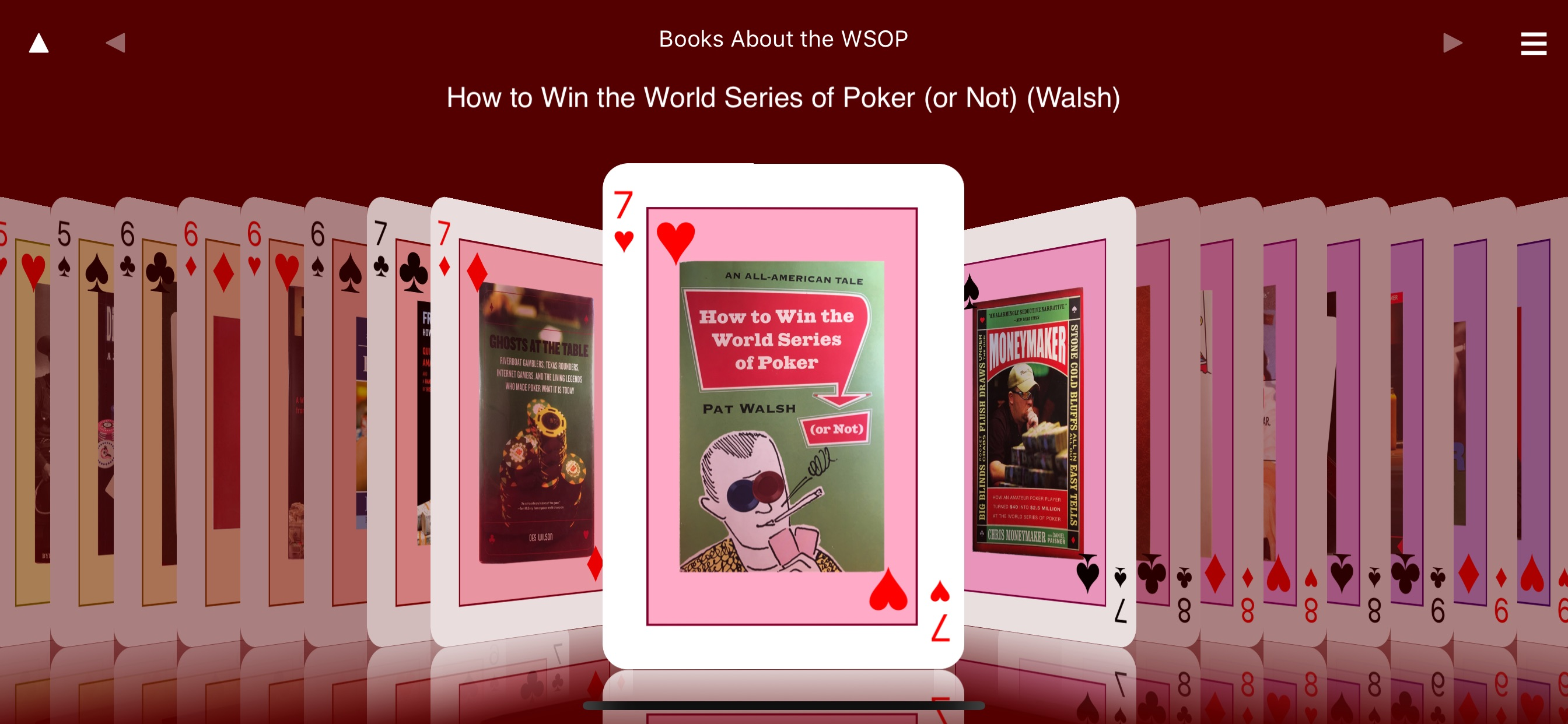 Poker Omnibus W50P Celebrates 50 Years of World Series of Poker History Image